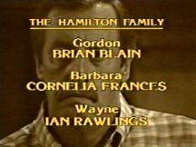 Closing Credits style used towards the end of the 1985 season